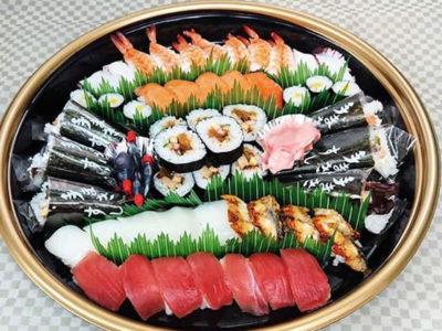 みなみ寿司 山水大皿