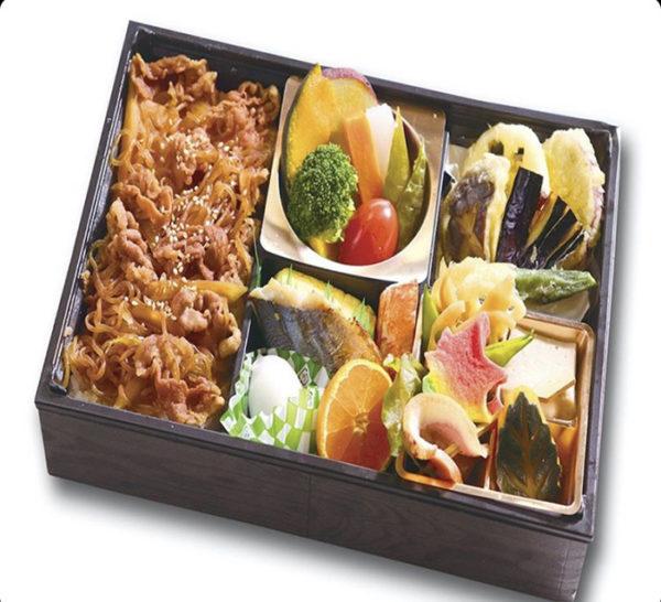 特選牛すき煮重&季節の天ぷら御膳